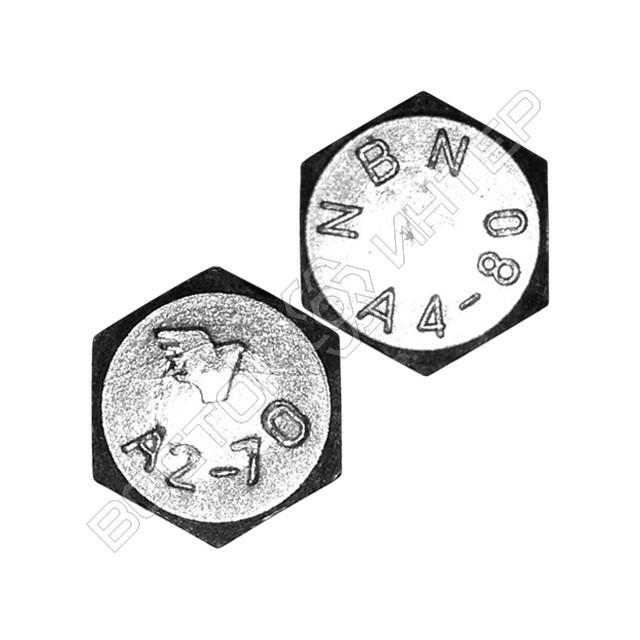 Болты из нержавеющей стали DIN 933 с шестигранной головкой и полной резьбой, фото 5