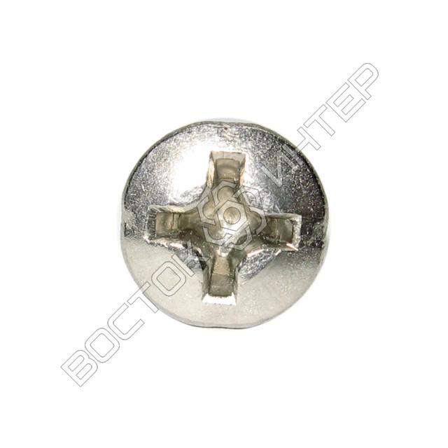 Винты из нержавеющей стали DIN 966 с полупотайной головкой и крестообразным шлицем, фото 5