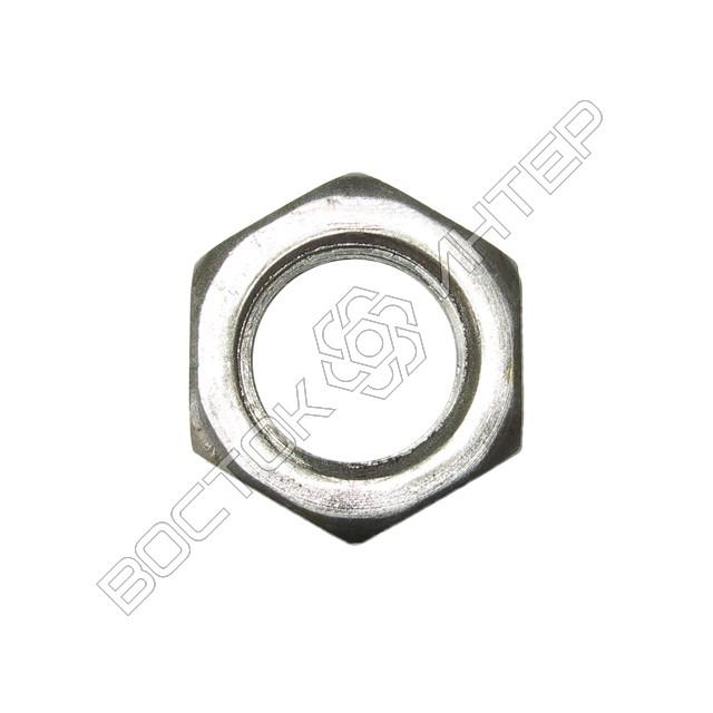 Гайка DIN 936 шестигранная низкая, фото 2