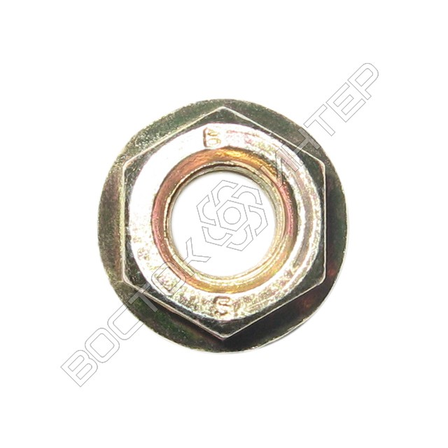 Гайка DIN 6923 шестигранная с фланцем, фото 2