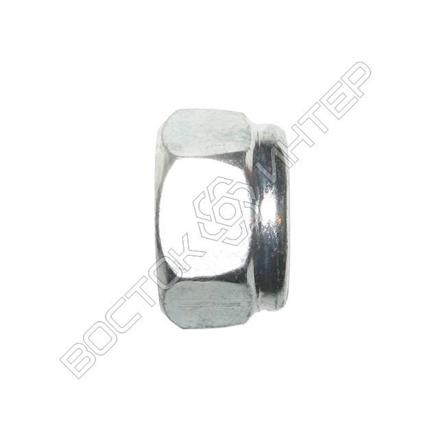 Гайка DIN 985 шестигранная низкая самоконтрящаяся с нейлоновым кольцом, фото 4