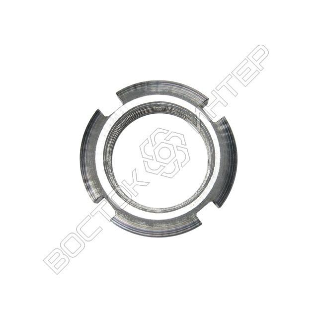 Гайка ГОСТ 11871-88 круглая шлицевая, фото 2