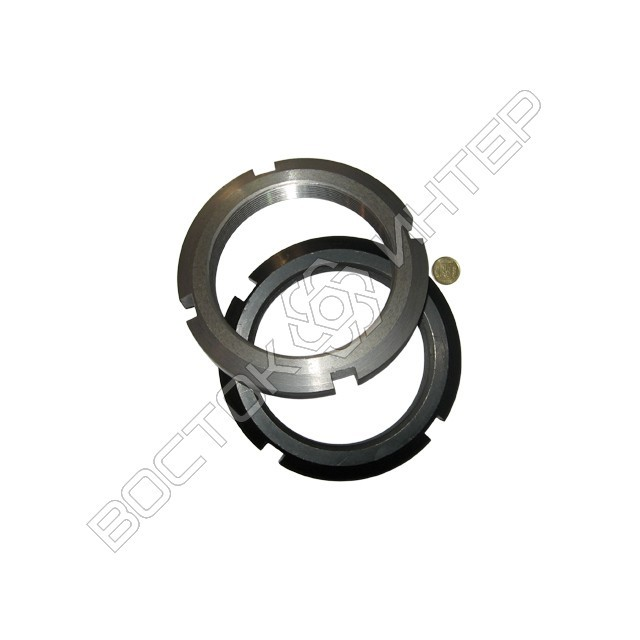 Гайка ГОСТ 11871-88 круглая шлицевая, фото 5
