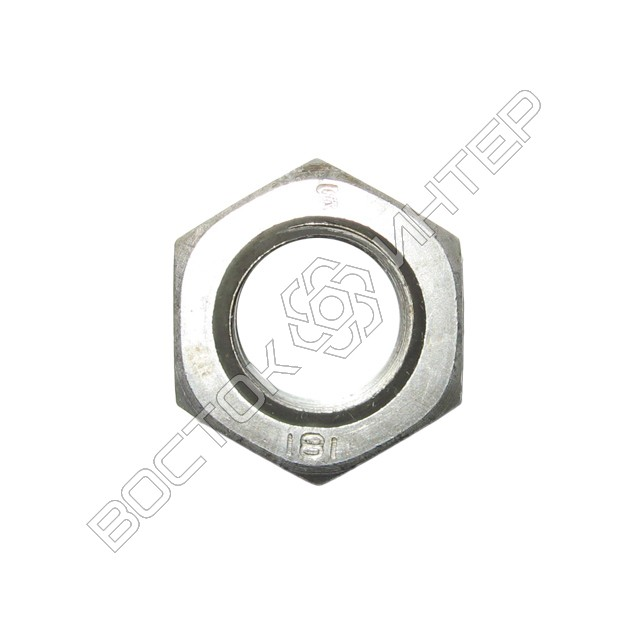 Гайки DIN 934 8.0 шестигранные, фото 2