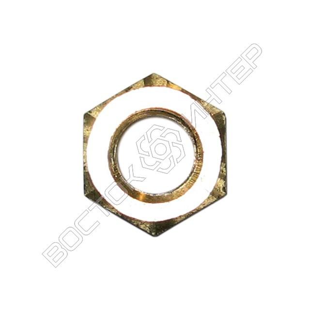 Гайки из латуни DIN 934 шестигранные, фото 2
