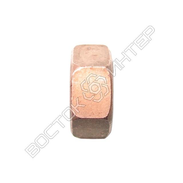 Гайки из меди DIN 934 шестигранные, фото 3