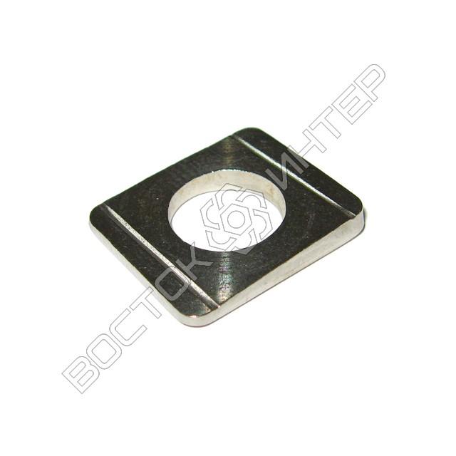 Шайбы из нержавеющей стали DIN 434 квадратные косые для швеллеров, фото 1
