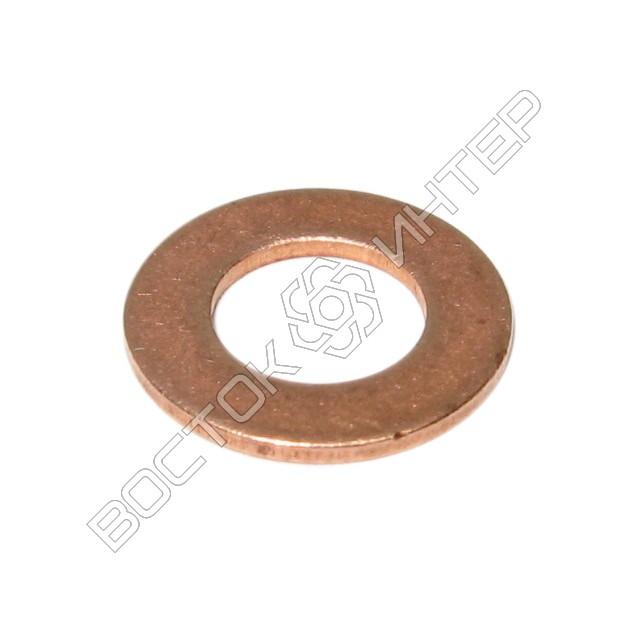 Шайбы из меди DIN 125 плоские, фото 1