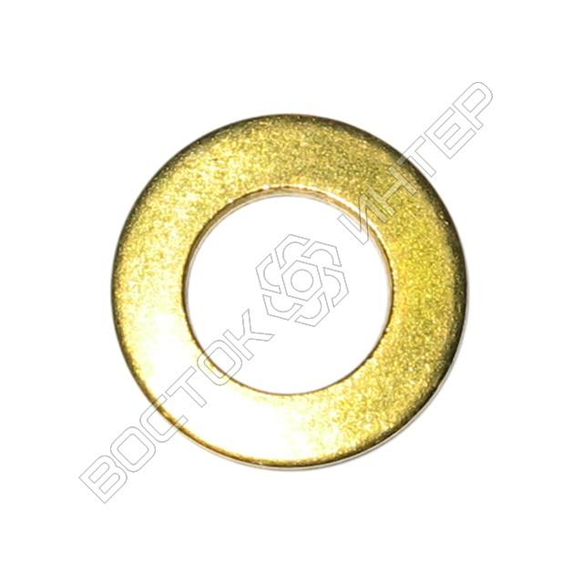 Шайбы из латуни DIN 125 плоские, фото 2