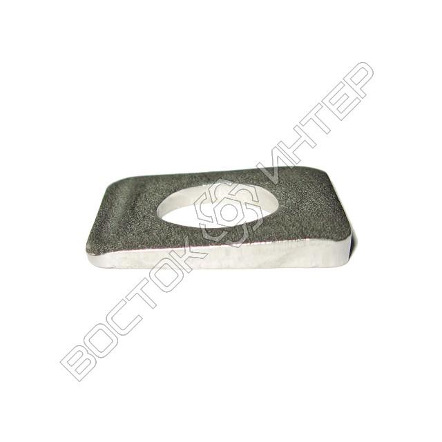 Шайбы из нержавеющей стали DIN 434 квадратные косые для швеллеров, фото 4