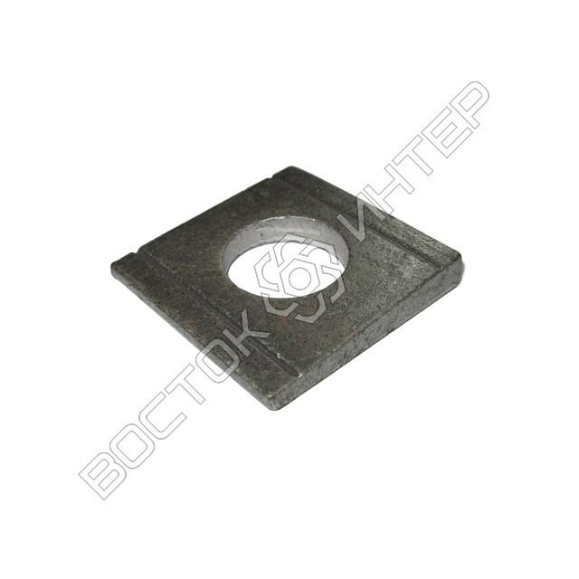 Шайбы DIN 434 квадратные косые для швеллеров, фото 1
