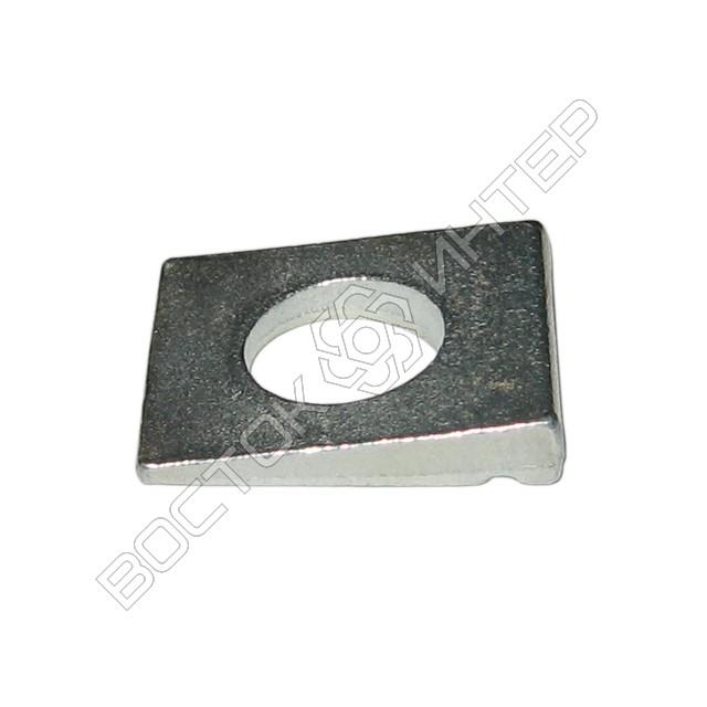Шайбы из нержавеющей стали DIN 435 квадратные косые для двутавровых балок, фото 4