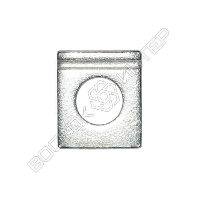 Шайбы из нержавеющей стали DIN 435 квадратные косые для двутавровых балок, фото 1