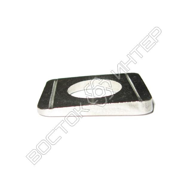 Шайбы из нержавеющей стали DIN 434 квадратные косые для швеллеров, фото 3