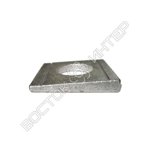 Шайбы DIN 434 квадратные косые для швеллеров, фото 3