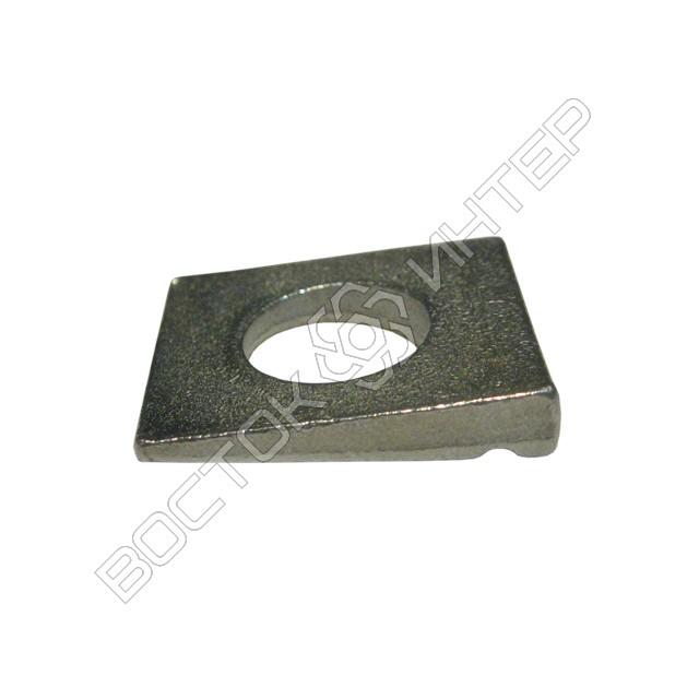 Шайбы DIN 435 квадратные косые для двутавровых балок, фото 4