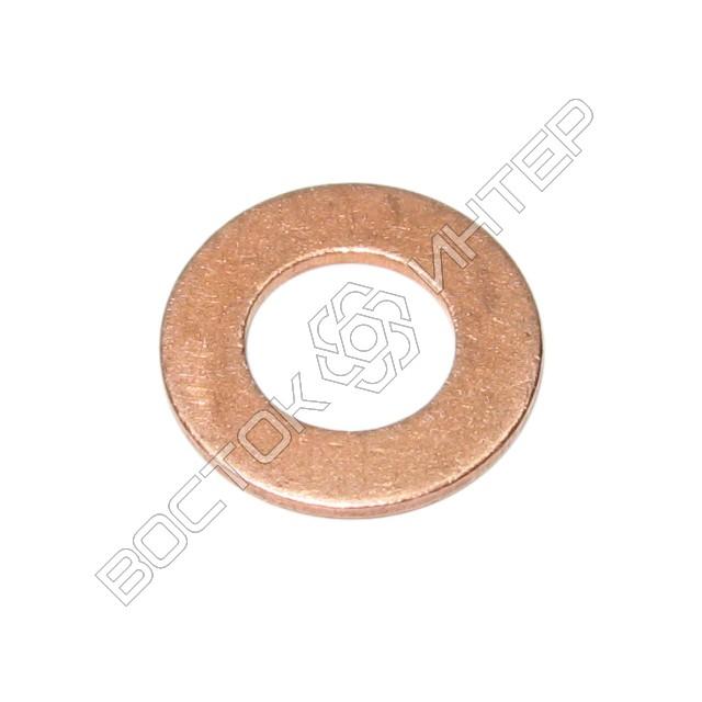Шайбы из меди DIN 125 плоские, фото 4