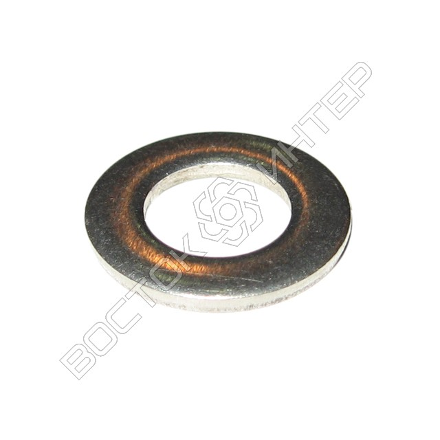 Шайбы из нержавеющей стали DIN 125 плоские, фото 1