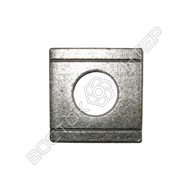 Шайбы DIN 434 квадратные косые для швеллеров, фото 2